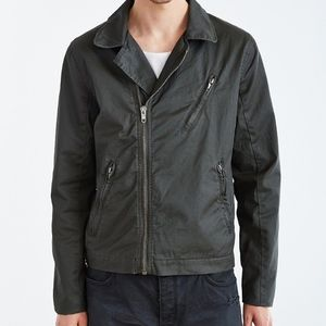 Urban Outfitters Coated Moto Flight Jacket XS